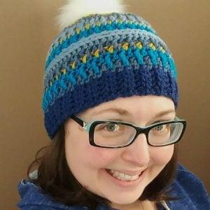 Free Crochet Hat Pattern: The Arctic Gem Beanie