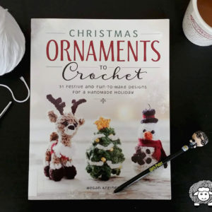 Christmas Ornaments to Crochet by Megan Kreiner: A Crochet Book Review
