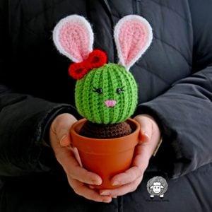 Penny the Bunny Cactus Crochet Pattern