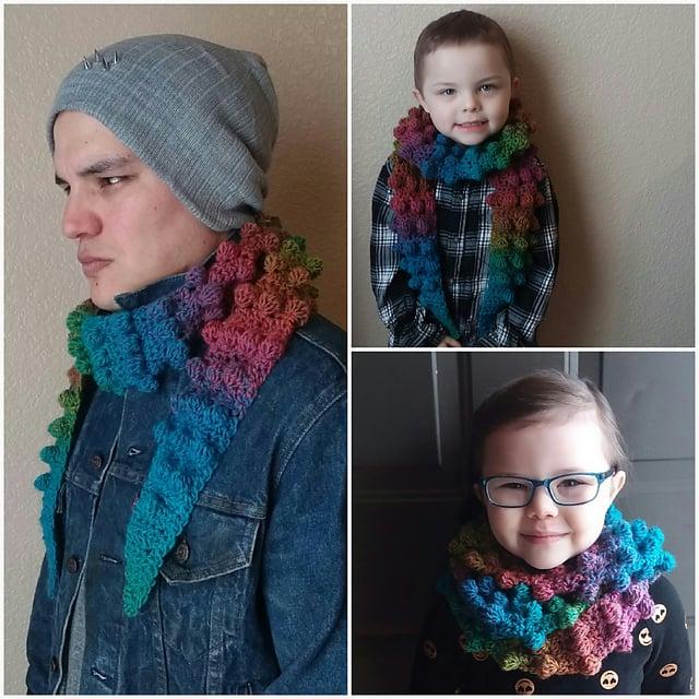 Inclusivity Scarf by Osage County Crochet