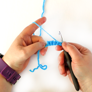 How to Crochet the Foundation Single Crochet Stitch