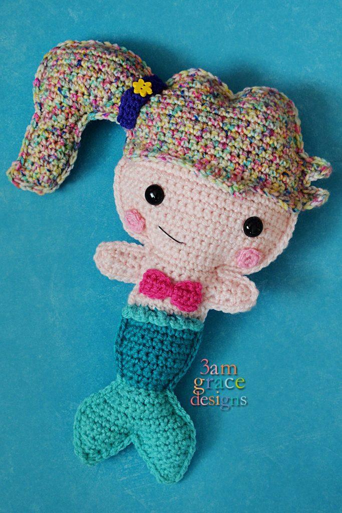 Mermaid Kawaii Cuddler by 3amgracedesigns