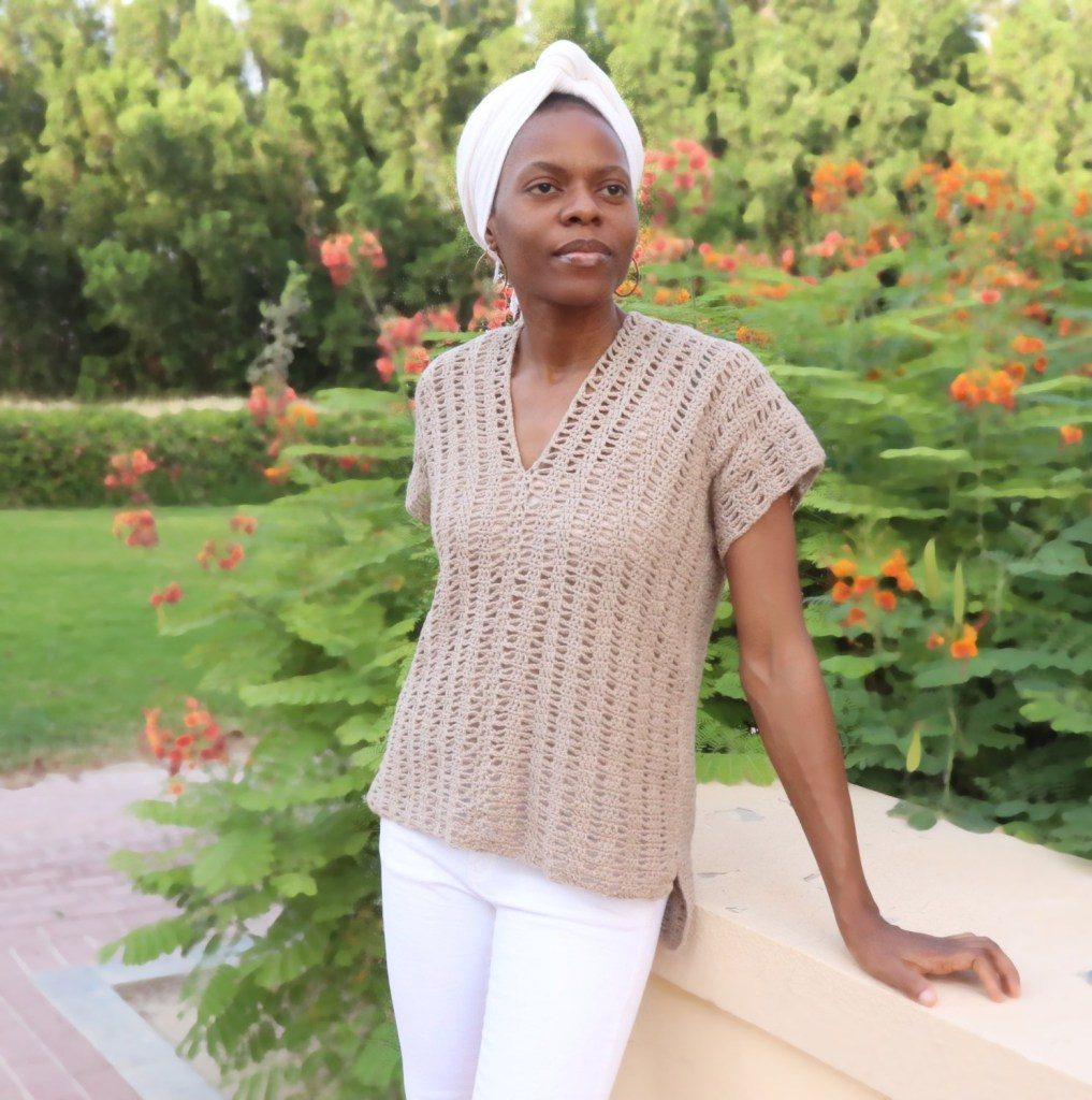 The Open Waves Top by Loopingly Made - Crochet Garment for Summer
