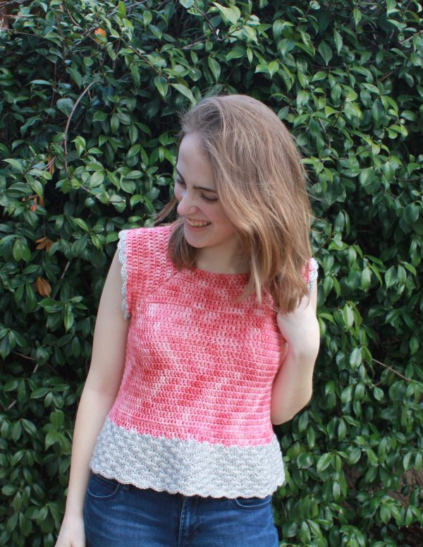 She sells Sea Shells Top by E'Claire Makery - Crochet project for summer