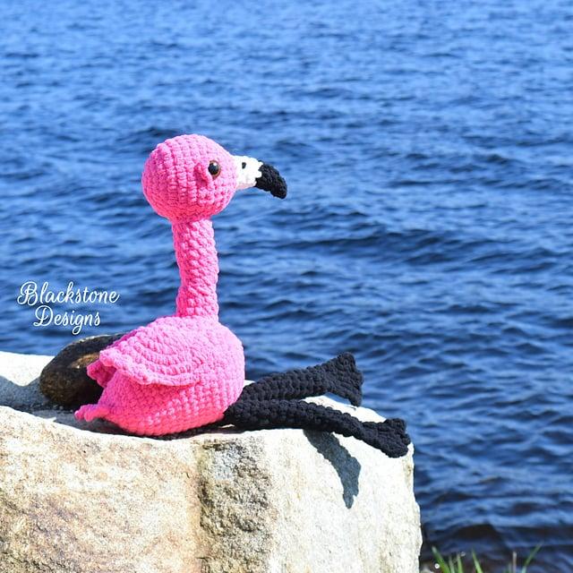 Flamingo Friend by Blackstone Designs