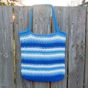 Crochet Tote Free Pattern – The Vendbar Tote Bag