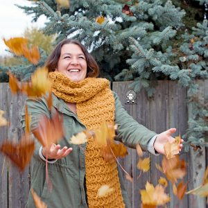 The Heather Super Scarf – Free Crochet Scarf Pattern