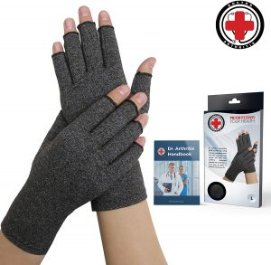 Compression gloves for crafters