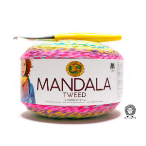 Lion Brand Mandala Tweed Yarn Review