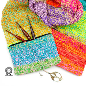 Crochet Pocket Scarf Pattern – Tweedy Pocket Scarf