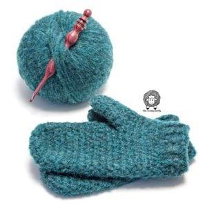 Free Crochet Mittens Pattern – Norse Crochet Mittens