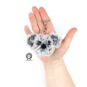 Crochet Koala Keychain Free Crochet Pattern