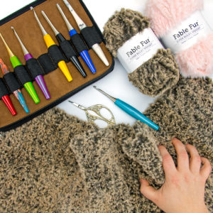 Tips for Crocheting with Faux Fur Yarn