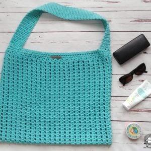 The Shoreline Seeker Tote – Crochet Tote Bag Free Pattern