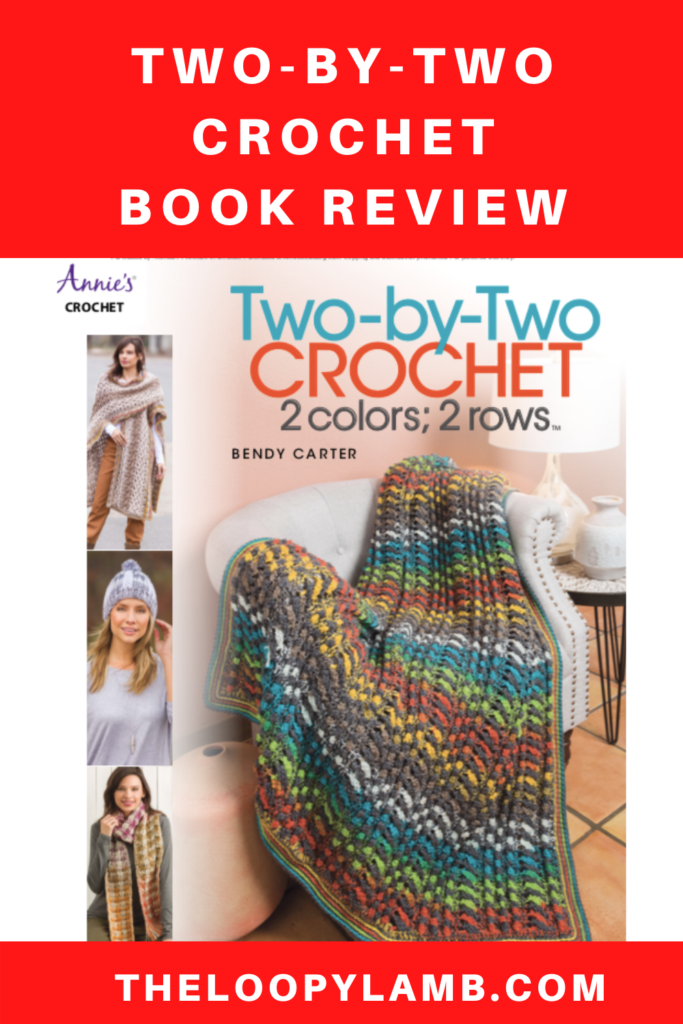 Cover of the Two-By-Two Crochet Book from Annie's