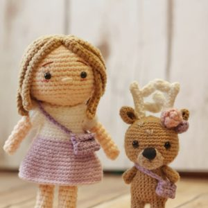 Free Crochet Doll Pattern by Craftings of Joules