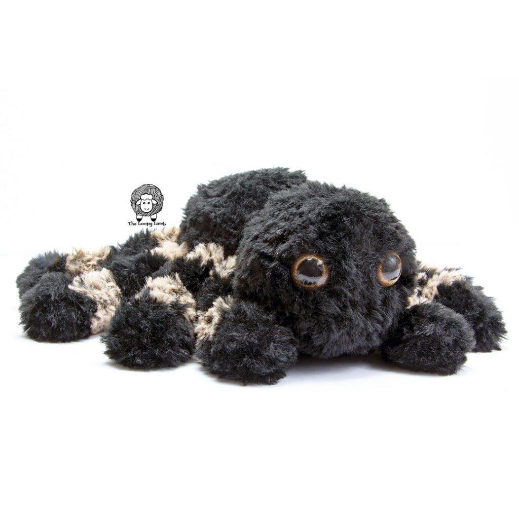 Crochet Tarantula made with faux fur