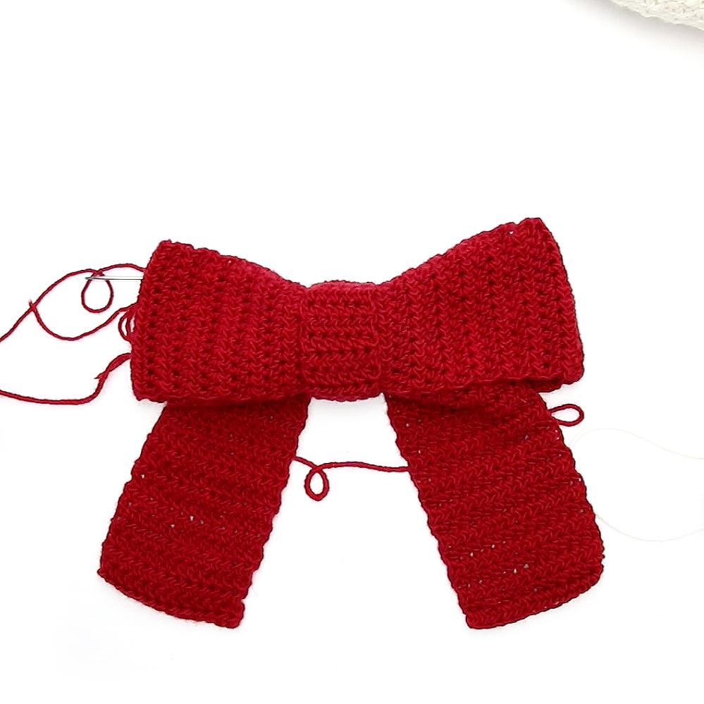 crochet bow tutorial image 3