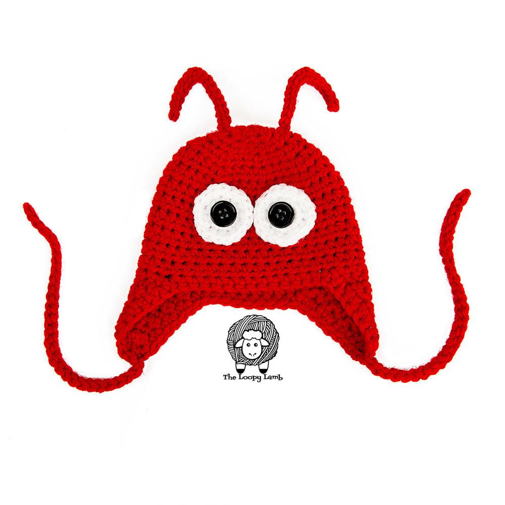 Ear flap animal hat