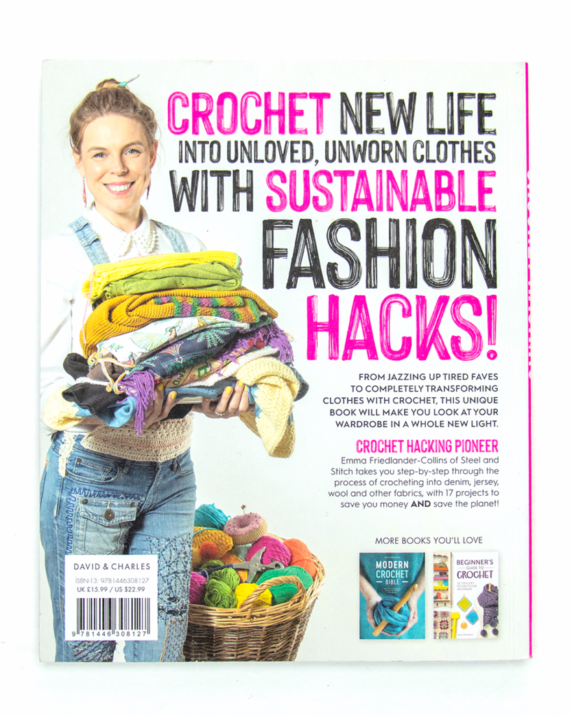 Back cover of Crochet Hacking