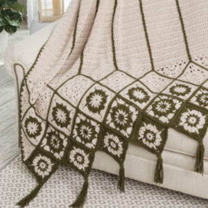 Cascading Blocks Throw Pattern Review and Giveaway!