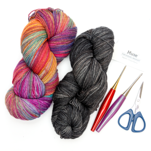 Muse Hand Painted Fingering Yarn Review