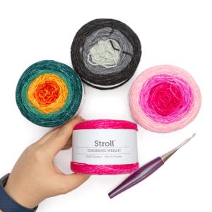 We Crochet Stroll Gradient Yarn Review