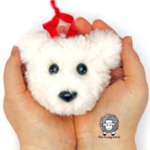 Crochet Bear Ornament Free Pattern