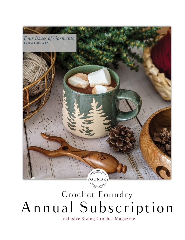 Crochet Foundry annual subscription advertisement image