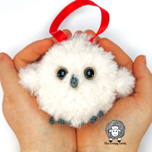 Crochet Owl Ornament Free Pattern
