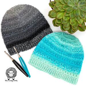 One Skein Crochet Hat Pattern – Into the Fade