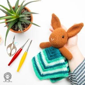Crochet Bunny Lovey Free Pattern