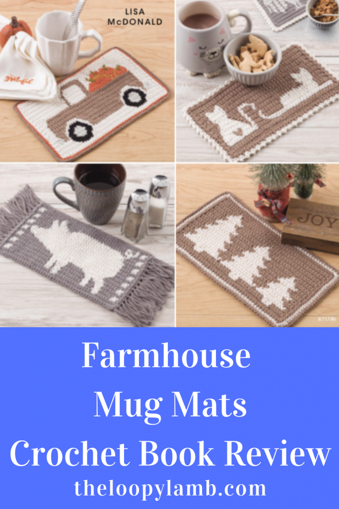 Cover image of Farmhouse Mug Mats: 12 Quick-to-stitch Mug Mats by Lisa Mcdonald