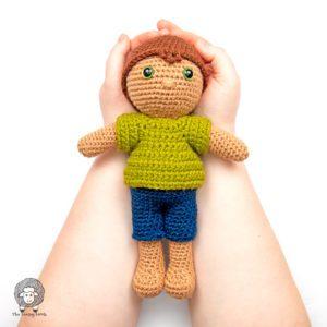 Crochet Boy Doll Free Pattern Crochet Along – Week 1