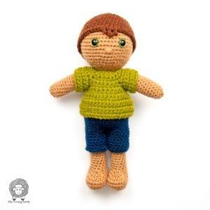 Amigurumi Boy Doll Free Pattern – CAL Week 2