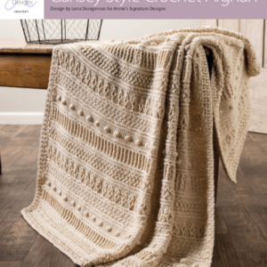 Gansey Style Crochet Afghan Review & Giveaway