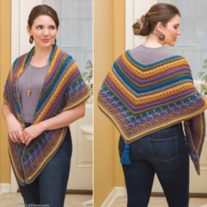 Monet Crochet Shawl Pattern Review & Giveaway