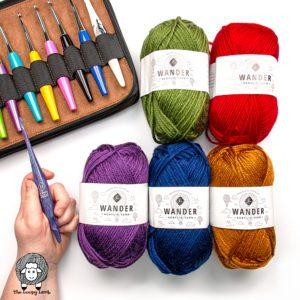 Furls Wander Acrylic Yarn Review