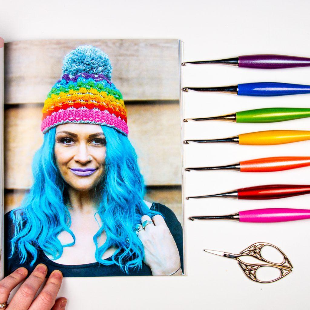Crochet hat pattern from Creative Crochet Projects book