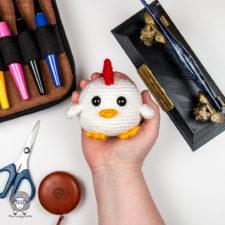 Free Crochet Chick Pattern – Chick Jagger