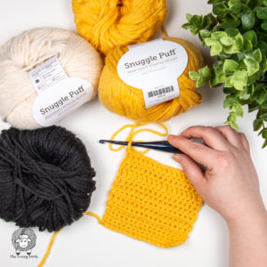 WeCrochet Snuggle Puff Yarn Review