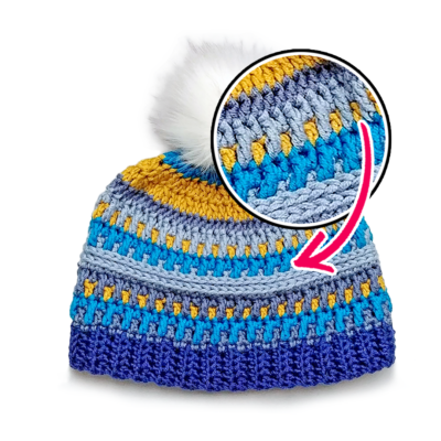 How to do the Front and Back Post Double Crochet Stitches