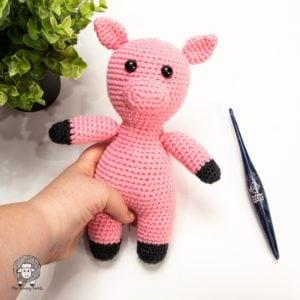 Free Crochet Pig Pattern – Piggie Smalls