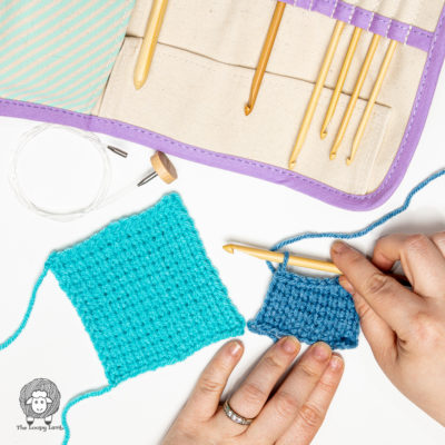 How to do the Tunisian Simple Stitch Step-by-Step Tutorial