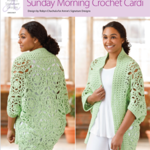 Sunday Morning Crochet  Cardi Review & Giveaway
