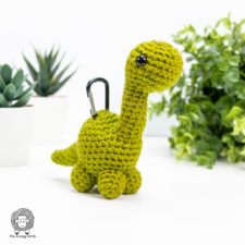 Amigurumi Brontosaurus Free Crochet Dinosaur Pattern