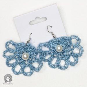 Free Crochet Earrings Pattern – Anabelle Earrings