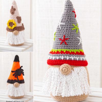 Seasonal Gnomes to Crochet Review