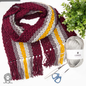 Free Pattern for a Crochet Scarf – The Brave At Heart Crochet Scarf