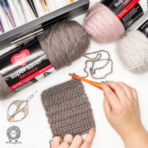 Red Heart Super Saver Brushed Yarn Review